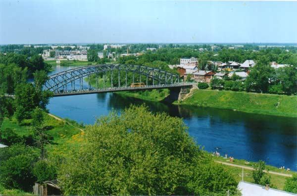 Мост Белелюбского (арочный мост)